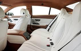 bmw 6 series interior 2013 bmw 6 series gran coupe drive motor trend