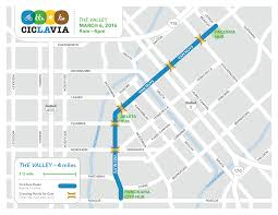 Valley Fair Map Ciclavia The Valley