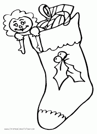 christmas stockings coloring pages coloring