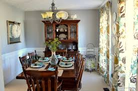 Pictures Of Wainscoting In Dining Rooms House Tour Dining Room