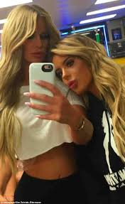 kim zolciak shares snap of daughter brielle flashing chest daily
