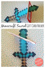 diy minecraft diamond sword birthday craft birthday crafts