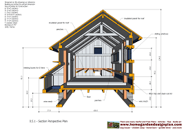 House Plans For A View Chicken Coop Plans For 50 Chickens With Inside View Chicken Coop