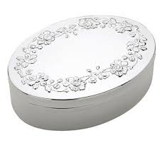 silver keepsake box peony silver keepsake box silversuperstore
