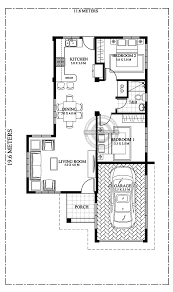 3 bedroom floor plans with garage simple 3 bedroom house plans layout and interior design with garage