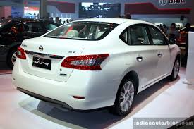 nissan sylphy nissan sylphy at the philippines international motor show 2014