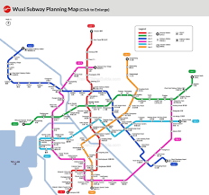Shanghai Metro Map Wuxi Subway Maps Stations Lines