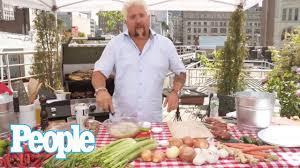 guy fieri grills up the perfect summer steak skewers people