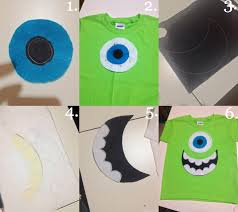 monsters inc mike halloween costumes mike wazowski shirt