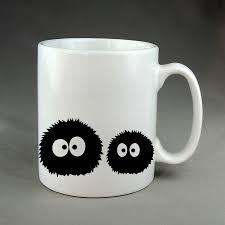 novelty coffee mugs my neighbor totoro spirited away mug ghibli no face soot sprites