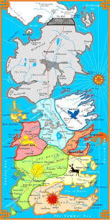 us map of thrones the coolest of thrones fan maps