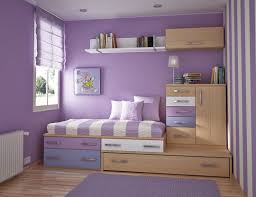 attractive bedroom wall designs ideas with light blue motive girls