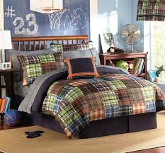 amazon black friday bedding amazon com brown blue orange green plaids and stripes teen
