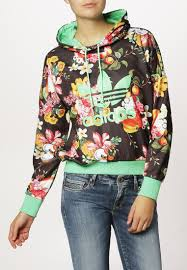 floral adidas hoodie leggings on the hunt