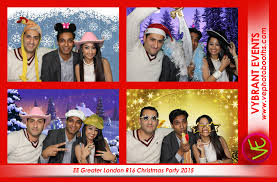 ee christmas party 2015 vybrant photo booths