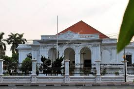 dutch colonial architecture dutch colonial architecture in jakarta indonesia stock photo