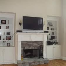 Decorating Family Room With Fireplace And Tv - decoration contemporary mounting tv above fireplace for your