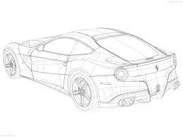 ferrari 458 sketch drawn ferrari car design pencil and in color drawn ferrari car