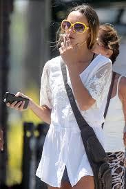Gina Carano Boob Slip - sharni vinson smokes a cigarette before hopping on a bicycle to go