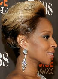 mary mary hairstyles photo gallery j blige s pulled back hairstyle at 2010 people s choice awards