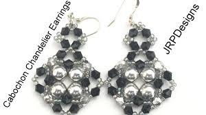 beginner earrings cabochon chandelier earrings beginner tutorial