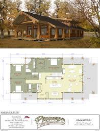 pioneer log homes floor plans goldrush pioneer log homes midwest