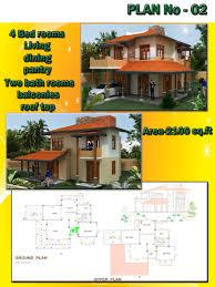 bright and modern house design plans in sri lanka 5 plan designs