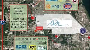 Melbourne Square Mall Map Wickham Center Retail 630 S Wickham Road Melbourne Fl 32904