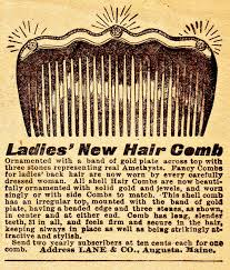 antique hair combs boulevard de l antique retro scraps 1905 hair combs