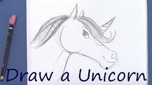 draw a unicorn youtube