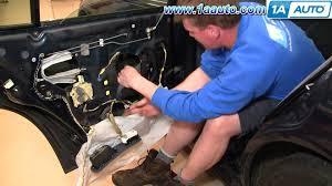 1999 honda civic window motor how to install repair replace rear power window regulator motor