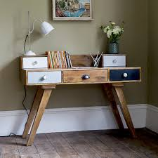 retro home office desk retro multi drawer desk