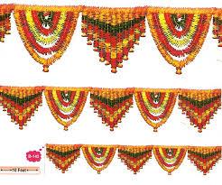 indian wedding flowers garlands decorative artificial flower toran b 142 ratna handicrafts