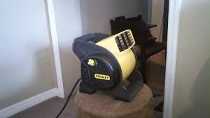 lasko high velocity blower fan how to disaasemble and clean the stanley blower fan youtube