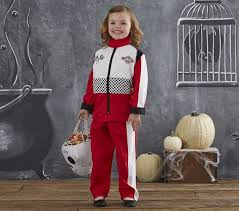 Pit Crew Halloween Costume Toddler Racecar Driver Costume Pottery Barn Kids