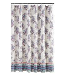 Paisley Shower Curtain Blue by Jessica Simpson Home Dillards Com
