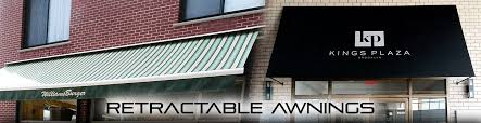 Commercial Retractable Awnings Storefront Retractable Awnings And Canopies Brooklyn Signs