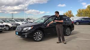 subaru wilderness green 2017 subaru outback 2 5i limited 349 october lease special youtube
