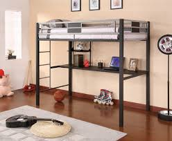 Metal Bunk Bed With Desk Underneath Metal Bunk Bed With - Metal bunk bed with desk