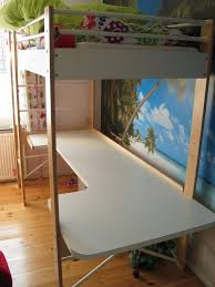 diy ikea bed diy tutorial diy dorm room crafts diy desk for ikea lo loft bed