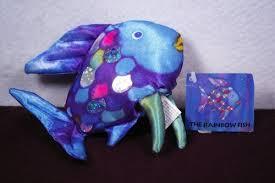 rainbow fish finger puppet marcus pfister 9781558585140 amazon
