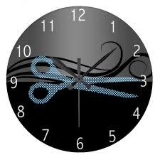 Hair Salon Interiors Best Accessories Hair Salon Clock Salon Pinterest Salons Clocks And Salon Ideas