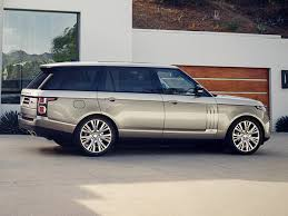 wheels land rover 2018 2018 land rover range rover svautobiography bows in los angeles