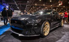 All Black Mustang 5 0 Ford Previews First Two Modified 2015 Mustangs For Sema U2013 News