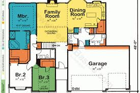 simple square house floor plans small budget plan open two story