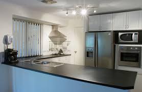 modern kitchen countertops modern kitchen waraby