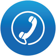 phone icon blue phone clipart clipground