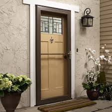 security screens for sliding glass doors security storm doors with glass and screen