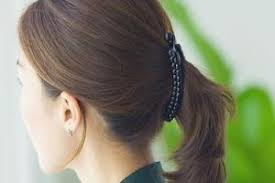 banana clip for hair get that 80s look with black banana clip hair