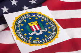 federal bureau of justice department of justice with us flag editorial photography image of